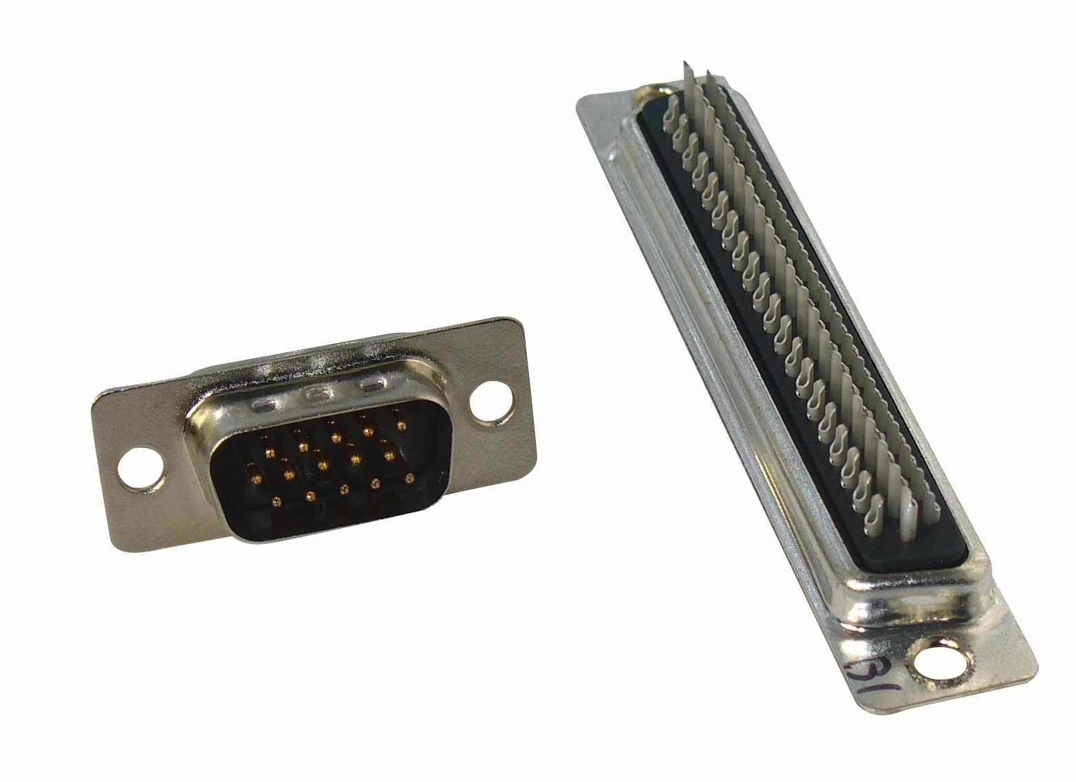 HDB15P26P44P62PMaleSolder