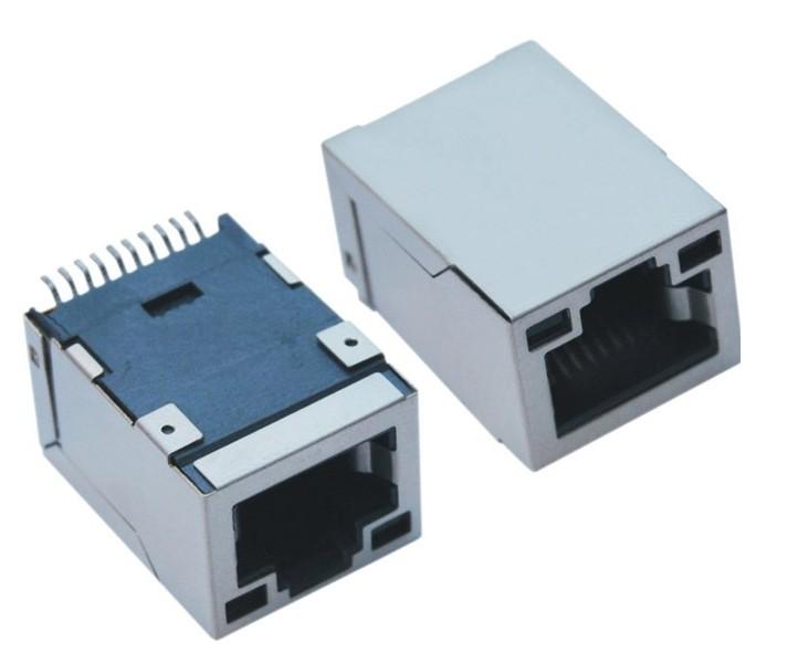 SMT 贴片屏蔽直插网络插座