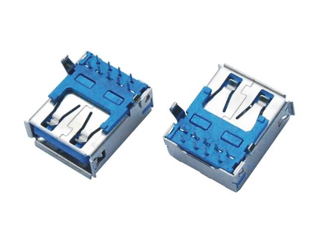 USB3.0 AF 90度DIP 板下型